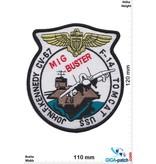 U.S. Navy USN F-14 MIG BUSTER - Tomcat - JFK CV-67 - HQ