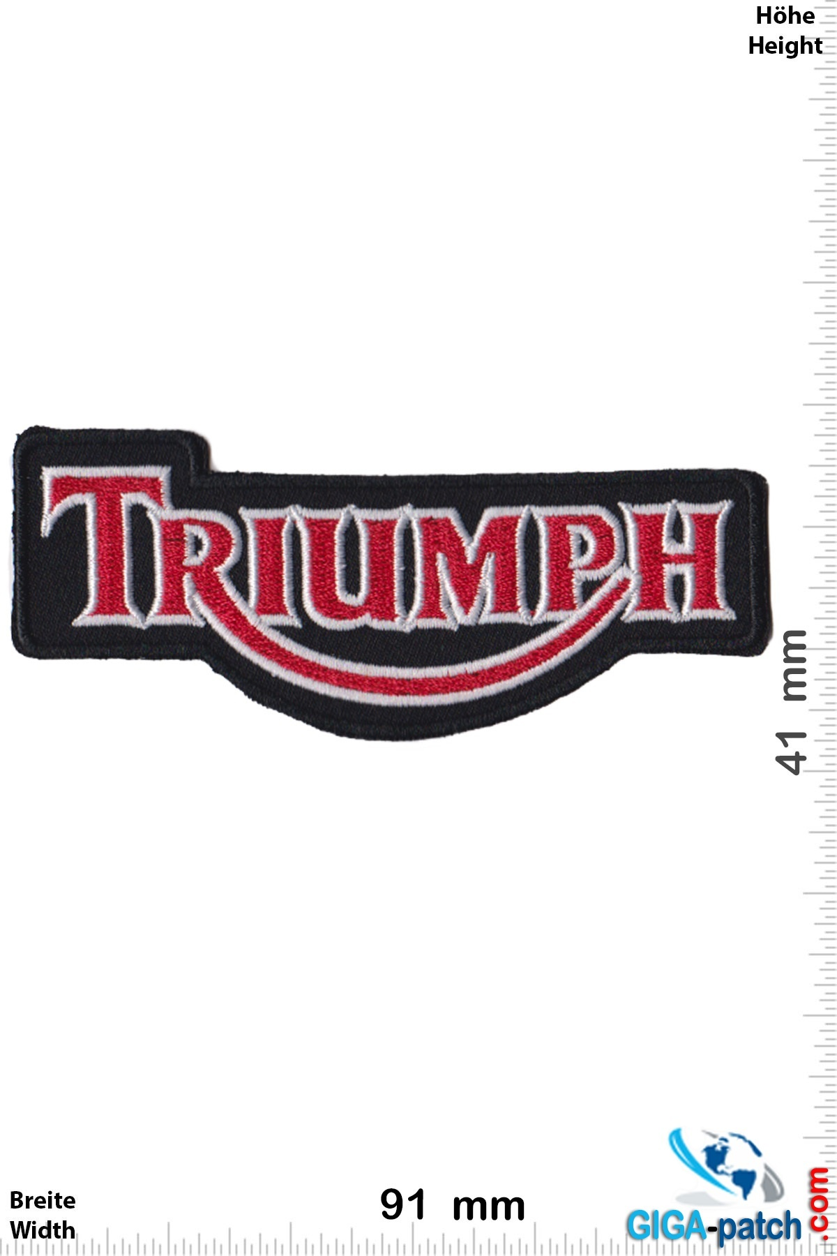 Triumph Triumph - red silver black
