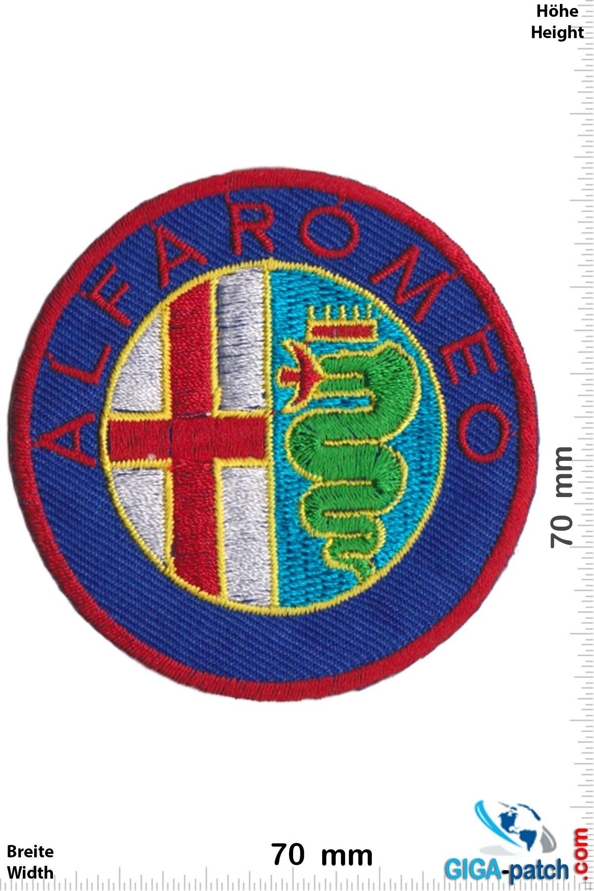 Alfa Alfa Romeo- red - rund
