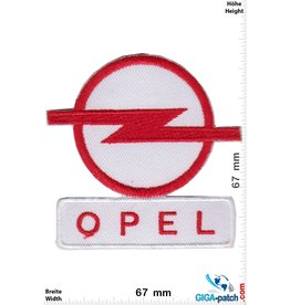 Opel Opel - red white