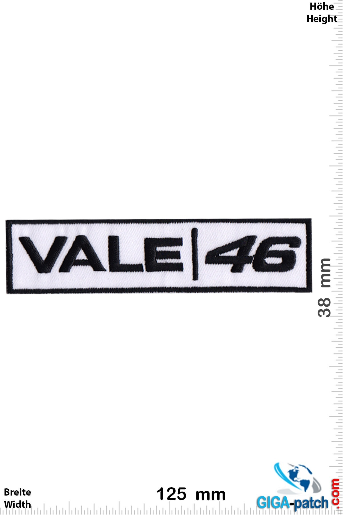 The Doctor Vale / 46 - the Doctor -Valentino Rossi - black white
