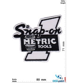Snap-on  Snap-on Metric  Tools - black white