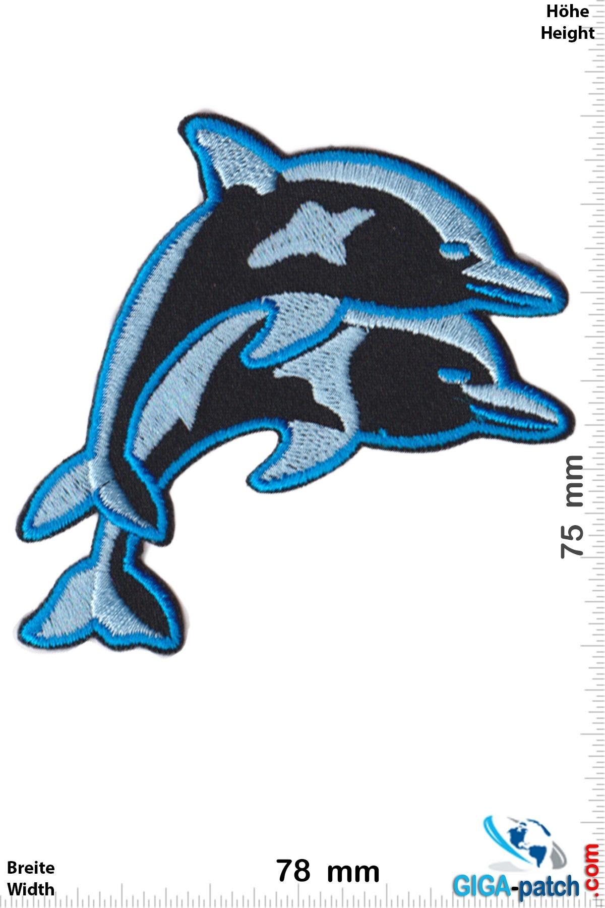 2 Delfine -  Delfin - blue