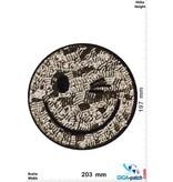 Smiley Smiley - gold Paillette - 20 cm