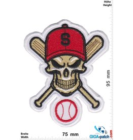 Baseball Baseball - Skull