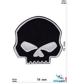 Totenkopf Totenkopf - Skull - black silver