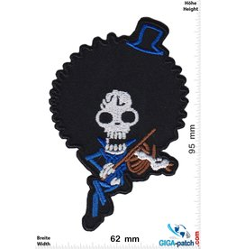 Totenkopf Brook spielt Geige - One Piece