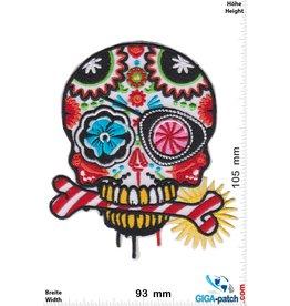Muerto Skull - Totenkopf - Muerto- color