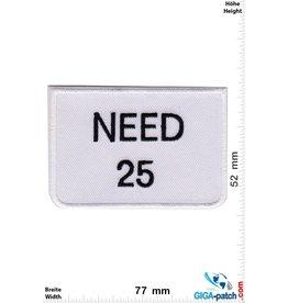 Fun NEED 25
