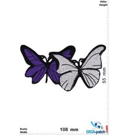 Schmetterling, Papillon, Butterfly Butterfly  -silver purple