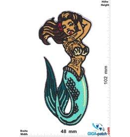 Meerjungfrau - Tattoo