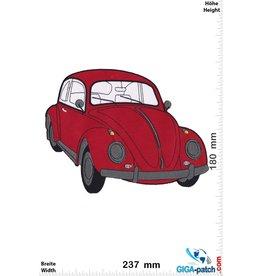 VW VW  Käfer - Bettle - rot-  23 cm