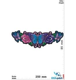 Oldschool Oldschool - Schmetterlinge - Rose - 25 cm