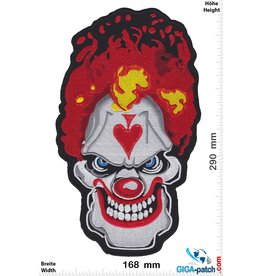 Oldschool Horror Clown - Joker  - 25 cm