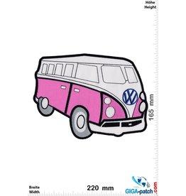 VW VW  Bus - T1 - purple-  22 cm