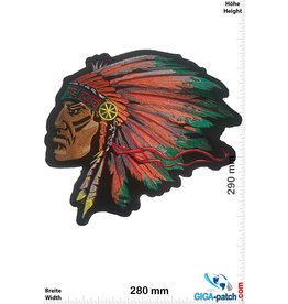 Indianer Indian - chief - 29 cm - BIG