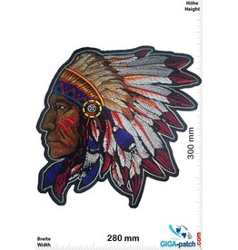 Indianer Indian - chief - 30 cm - BIG