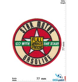 Star Motor Gasoline - Go with the Star!