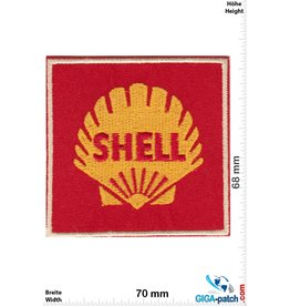 Shell SHELL - red gold