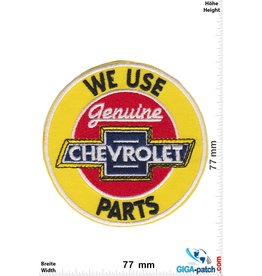 Chevrolet  Chevrolet - We use Genuine Parts - white