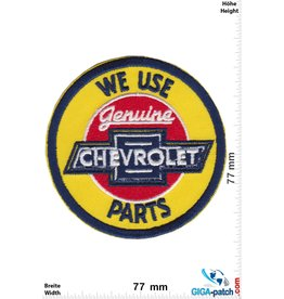Chevrolet  Chevrolet - We use Genuine Parts - blue