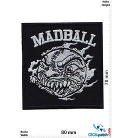 Madball Madball - Logo - Hardcore-Punk-Band- silver black