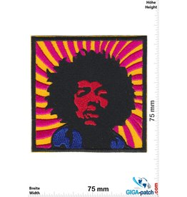Jimi Hendrix Jimi Hendrix - orange-pink