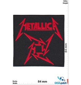 Metallica Metallica - Red - Sign
