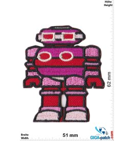 Robot Robot - Roboter - red