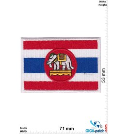Thailand, Thailand Thailand - Elefant - Flagge