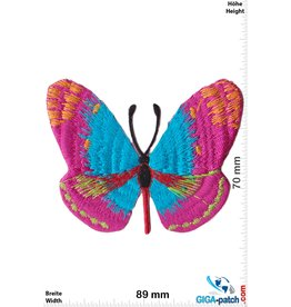 Schmetterling Butterfly - blue pink