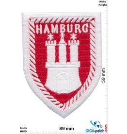 Hamburg - gate - coat of arms
