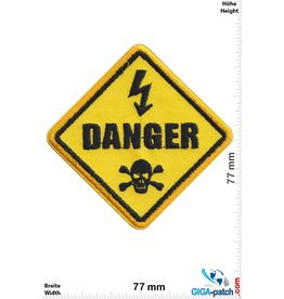 Fun Achtung Danger Schild