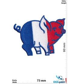 Frankreich, France France - Schweinchen - Flagge