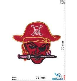 Pirat Pirat - Kopf - red
