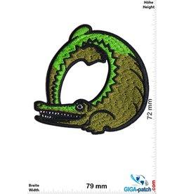 Crocodile - round