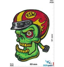 FTW - Helmet - Fuck the World - Forever two Wheels