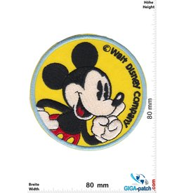 Mickey Mouse  Mickey Mouse  - Walt Disney Company - round