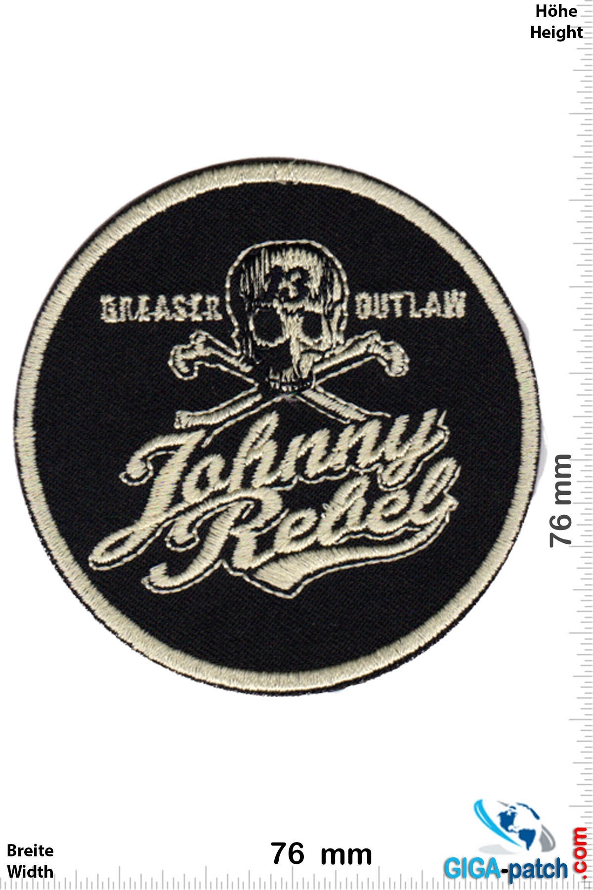 Hotrod Johnny Rebel - Greaser Outlaw - Lucky 13