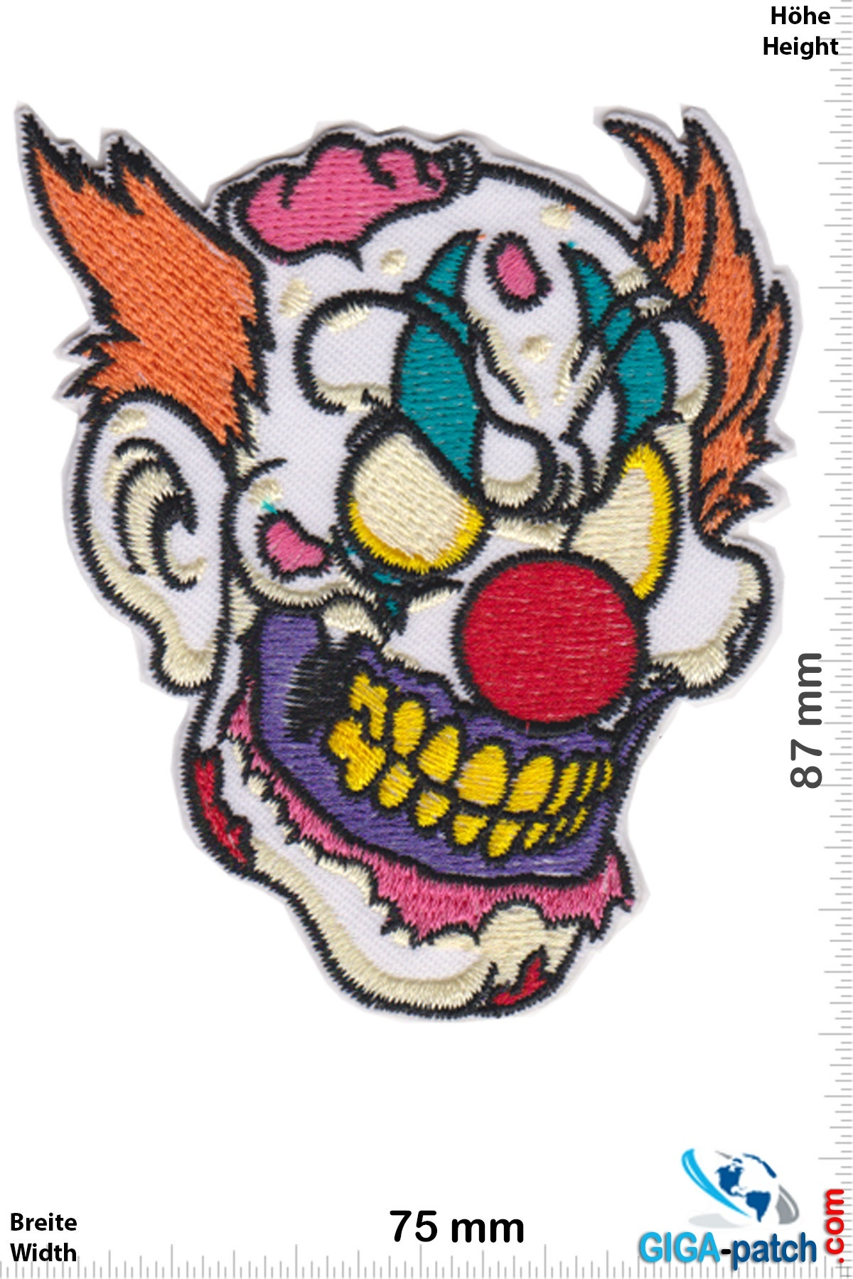 Totenkopf Horror Clown -  Scary Clown