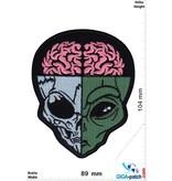 Alien Alien Skull - Head - Kopf - HQ