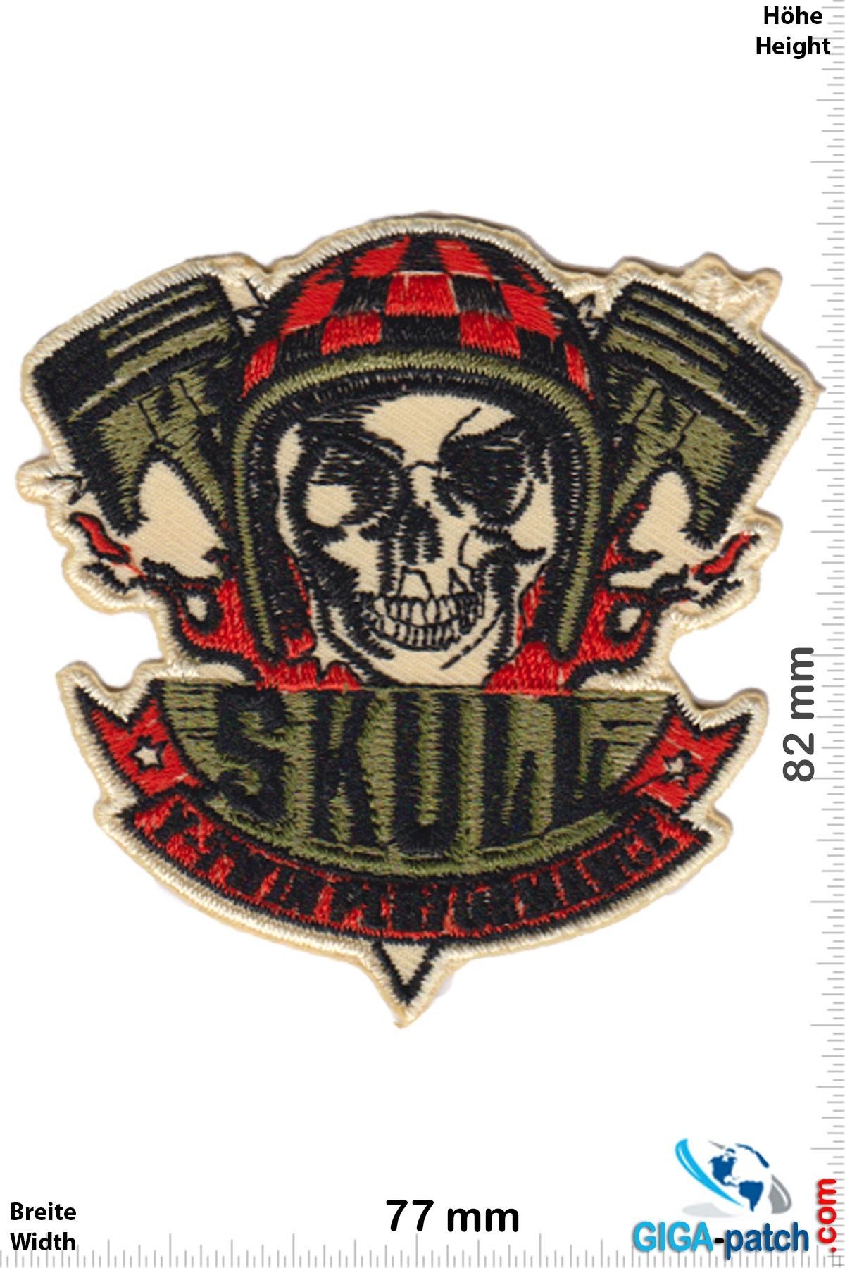 Hotrod Skull - V - Rider
