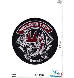 Totenkopf Forever Two Wheels - FTW - Helmet - V