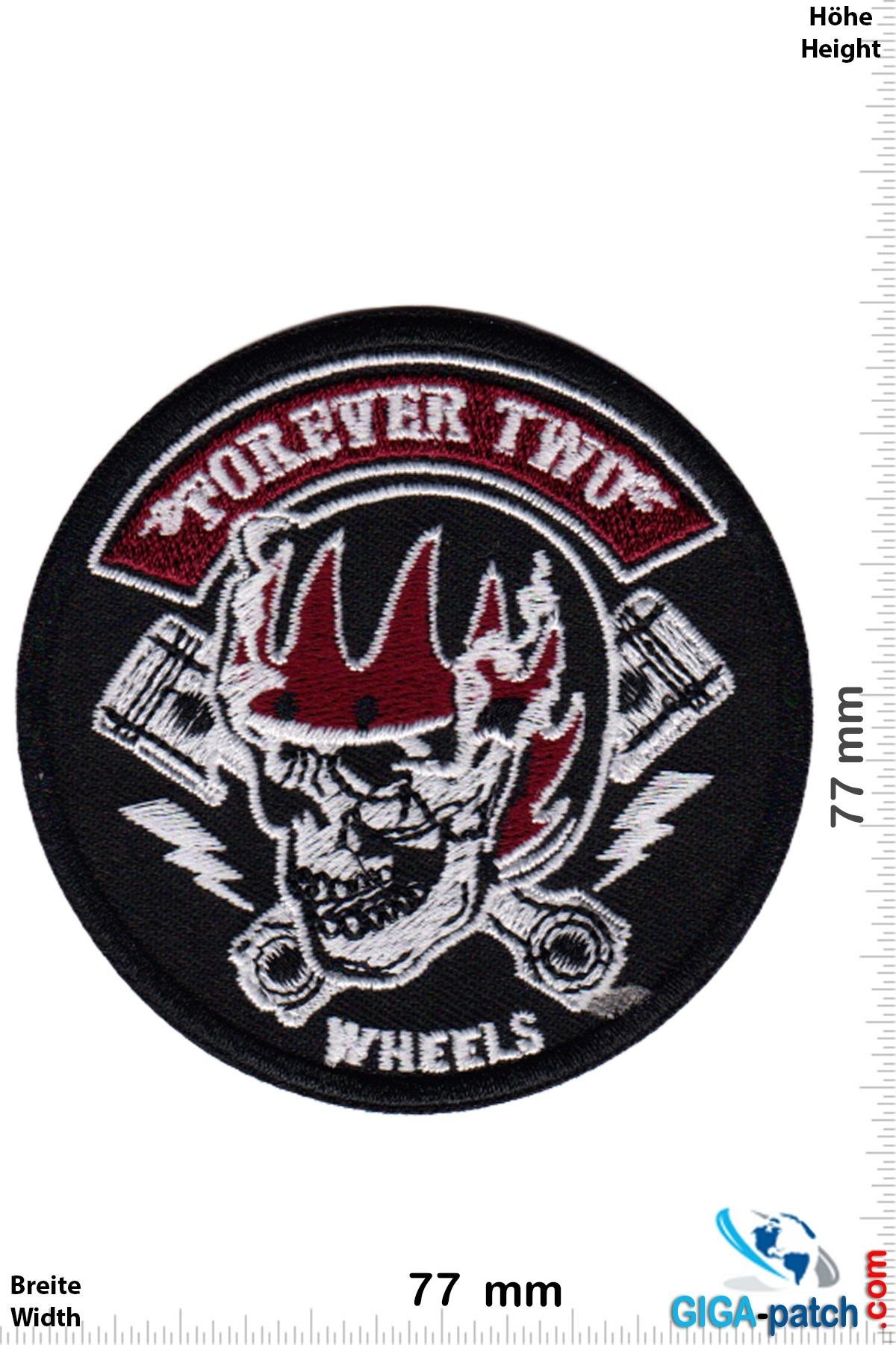 Totenkopf Forever Two Wheels - FTW - Helm - V