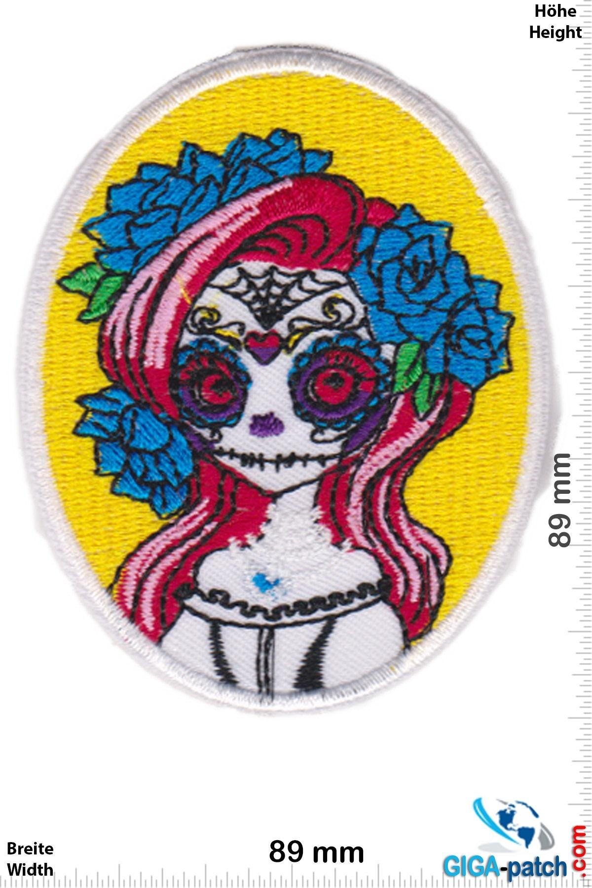 Muerto Bride Skull - Totenkopf - Muerto