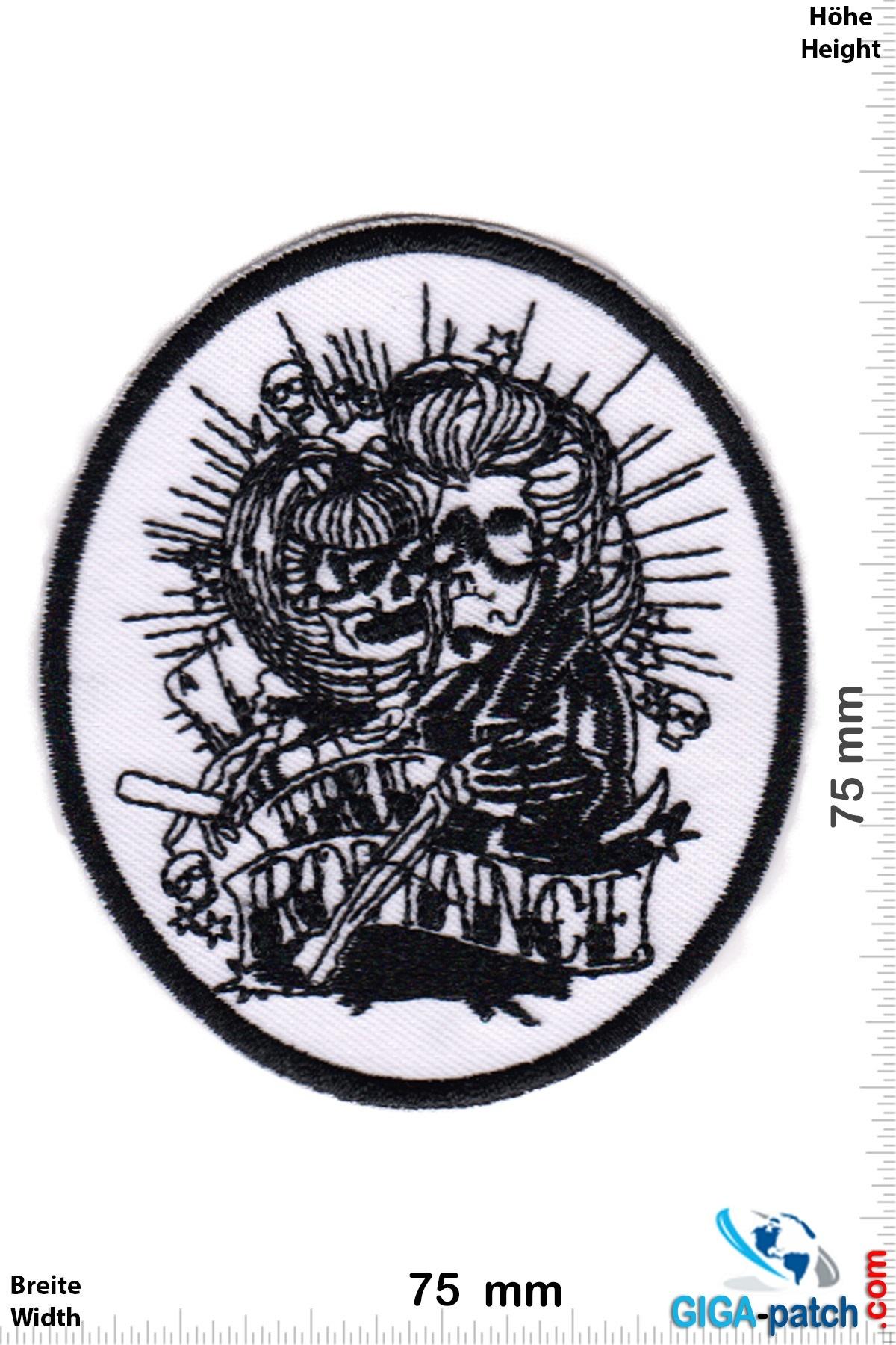Totenkopf The Romance - black white - Weeding Skull