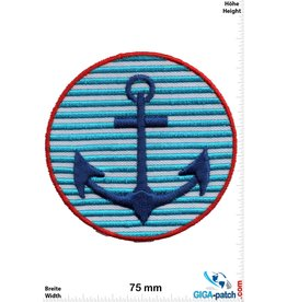 Navy Marine - Anchor  - blue white
