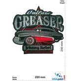 Hotrod Outlaw Greaser - Johnny Rebel -  26 cm