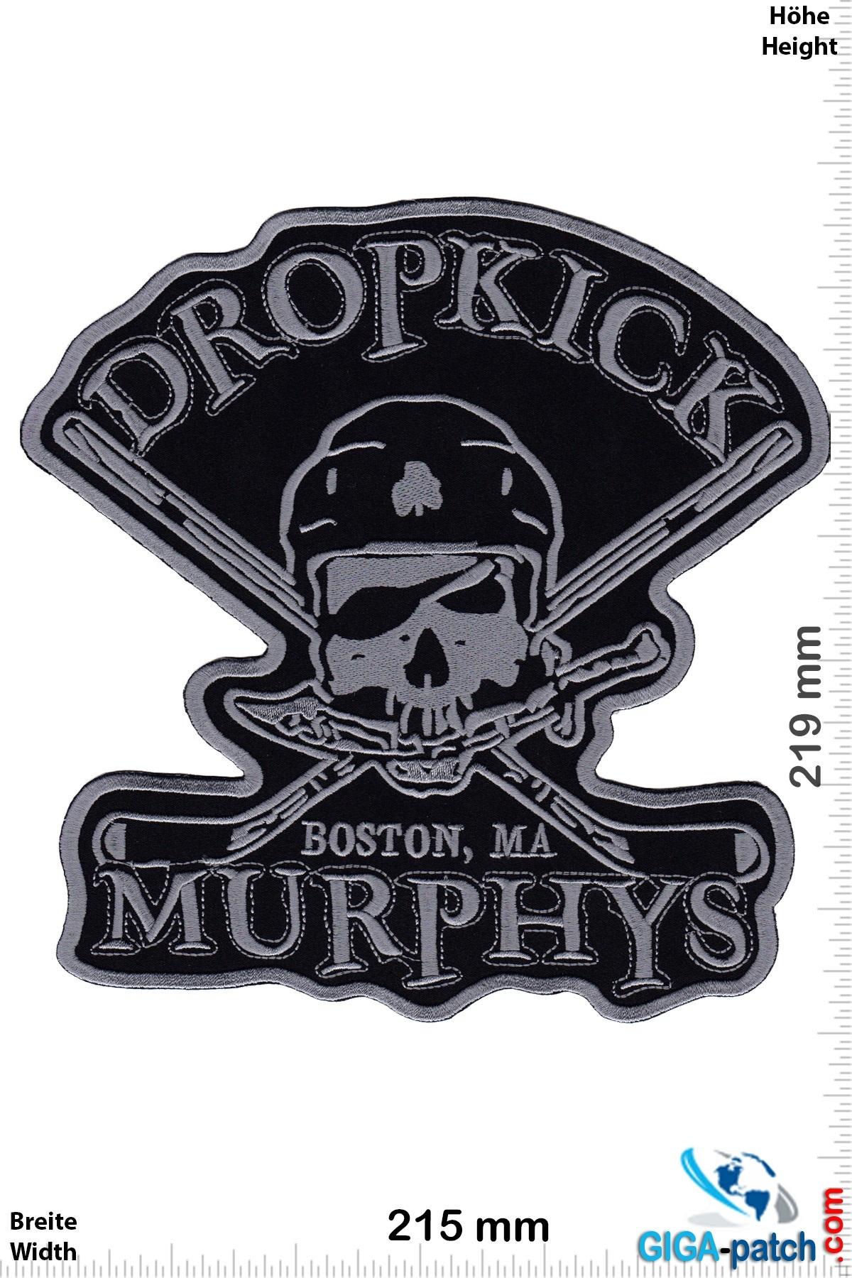 Dropkick Murphys  Dropkick Murphys - Boston - darksilver  - 18 cm - BIG