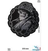 Totenkopf Totenkopf Skull Kettenring -25 cm